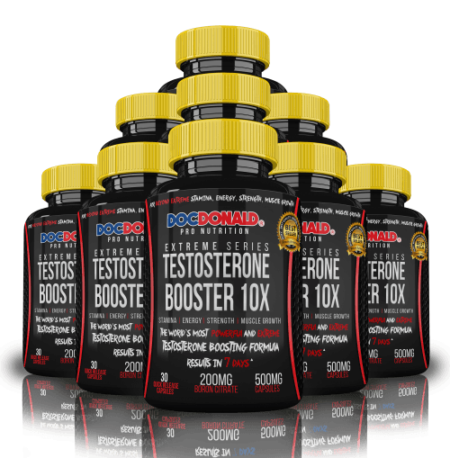 Testosterone Booster 12 bottle