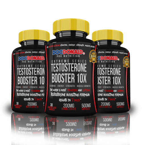 Testosterone Booster 3 bottle