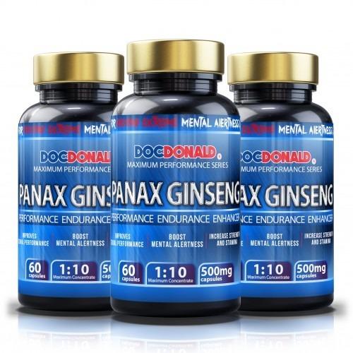 Panax Ginseng 3 Bottles