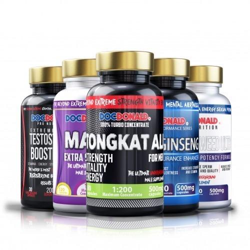 Tongkat Ali, Maca, Ginseng, Horny Goat Weed, Testosterone Singapore 1 Month